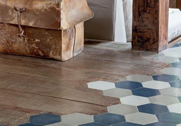 Hexagon cement tile collection & Encaustic cement tile galleryHexagon cement tile collection ...
